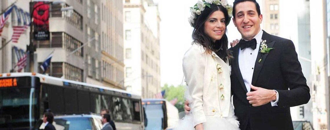 10 fashionistas que se lucieron con su vestido de novia: ¡Pura moda!