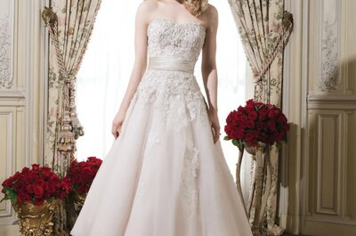 Vestidos de noiva 2015: Justin Alexander e Justin Alexander Signature apresentam colecção luxuosa