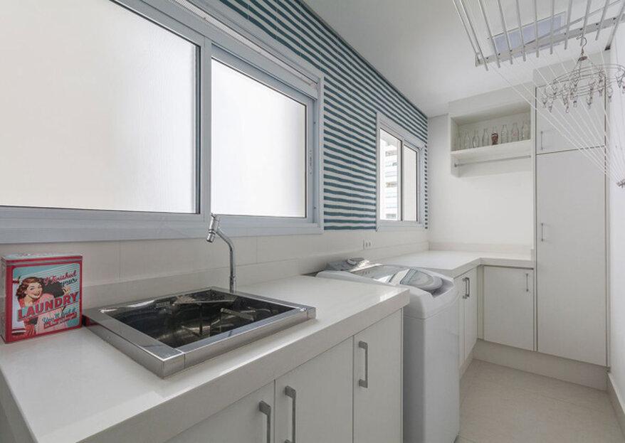 Decoração de lavanderia: como escolher o revestimento certo?