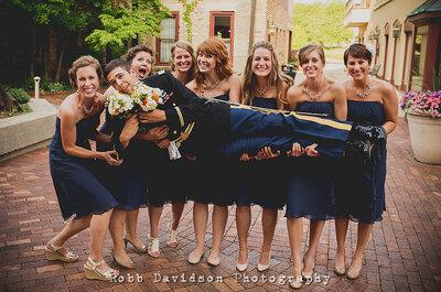 Pomysły na szalone zdjęcia ślubne