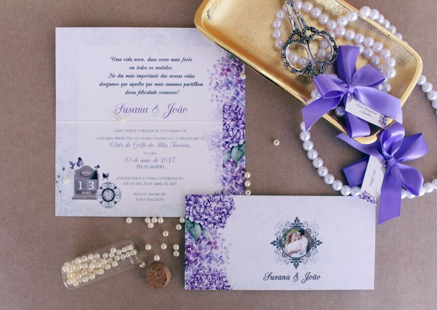 Convites de casamento: escolha a fonte de letra ideal para o estilo da sua cerimónia