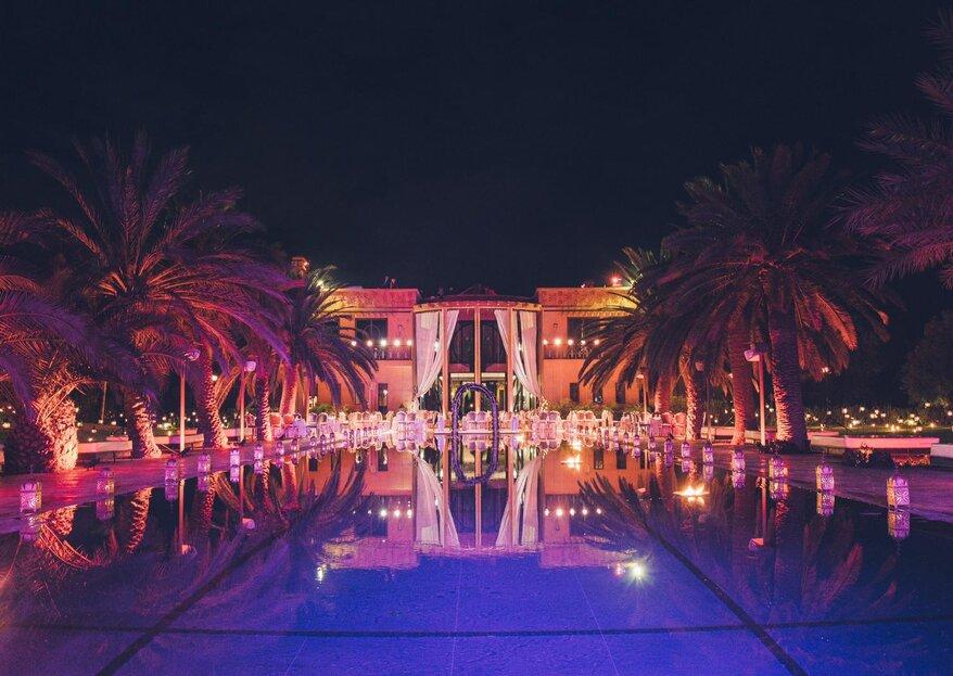 L'Hôtel O'Atlas rend réalisables vos rêves de mariage d'exception à Marrakech