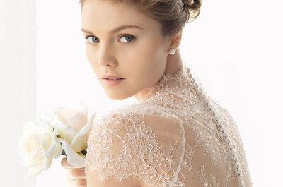 Abiti da sposa con trasparenze per il 2015: il mix perfetto di seduzione ed eleganza