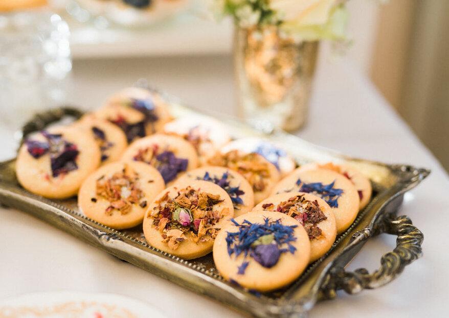 Ausgefallene Sweet Tables von Cook & Cookies – Gaumenfreuden für's Brautpaar & seine Gäste