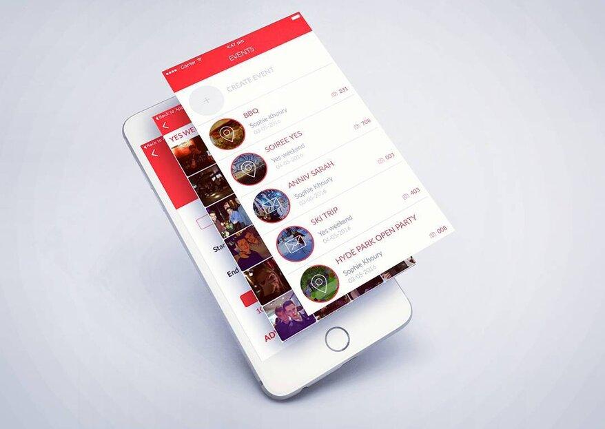 EVENTER : l'application idéale pour rassembler vos souvenirs !
