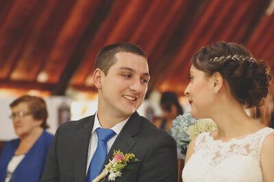 Isabel y Andrés, un amor que del colegio pasó al matrimonio