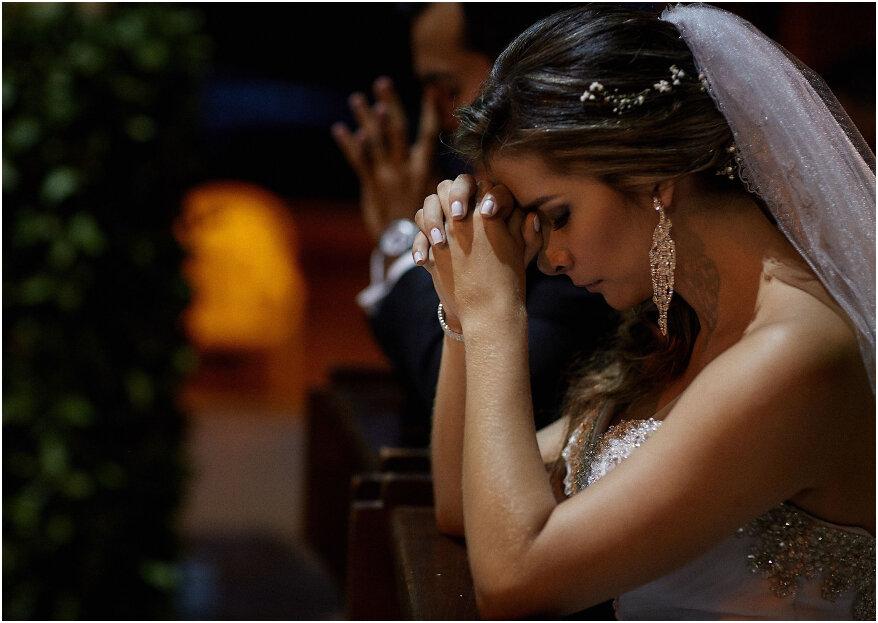 ¿Deberías o no tener una boda religiosa? 5 aspectos que debes tener en cuenta