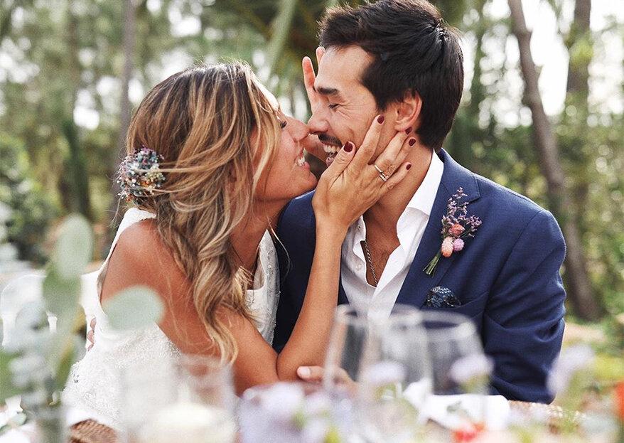 Francisco Garcia e Sofia Sousa Guedes casaram. Veja as imagens!