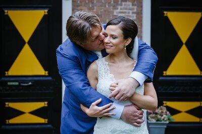 De bruiloft van Xandra en Ben op een prachtige buitenlocatie!