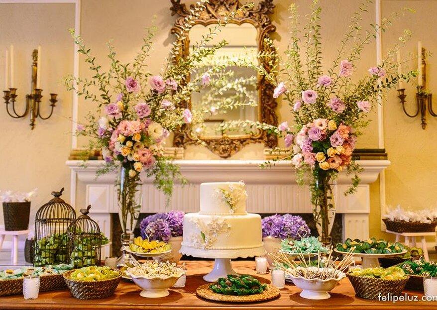 El candy bar de boda: 10 consejos para la mesa de dulces perfecta