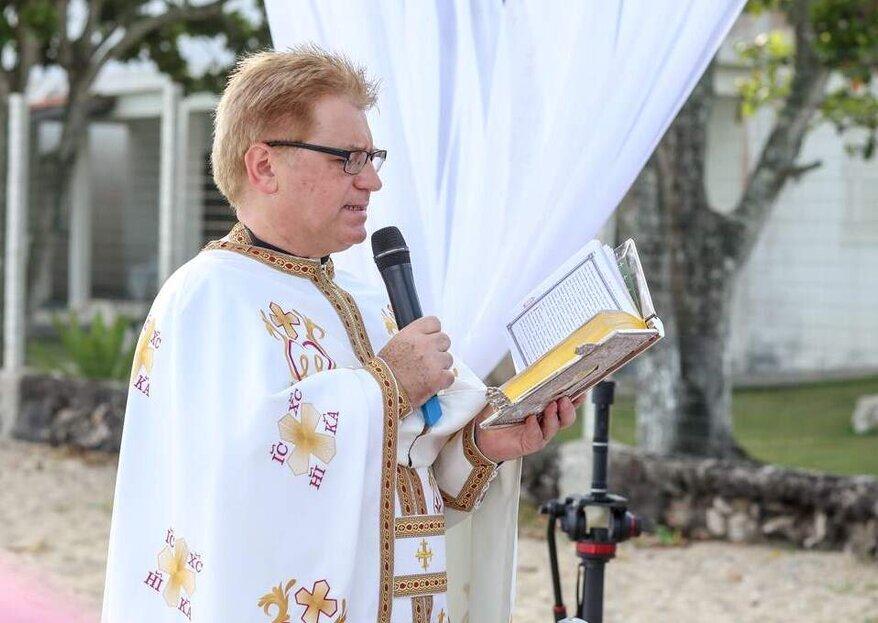Celebrante Pe. Francisco: Cerimônias tradicionais e personalizadas para tornar o seu casamento ainda mais marcante e inesquecível