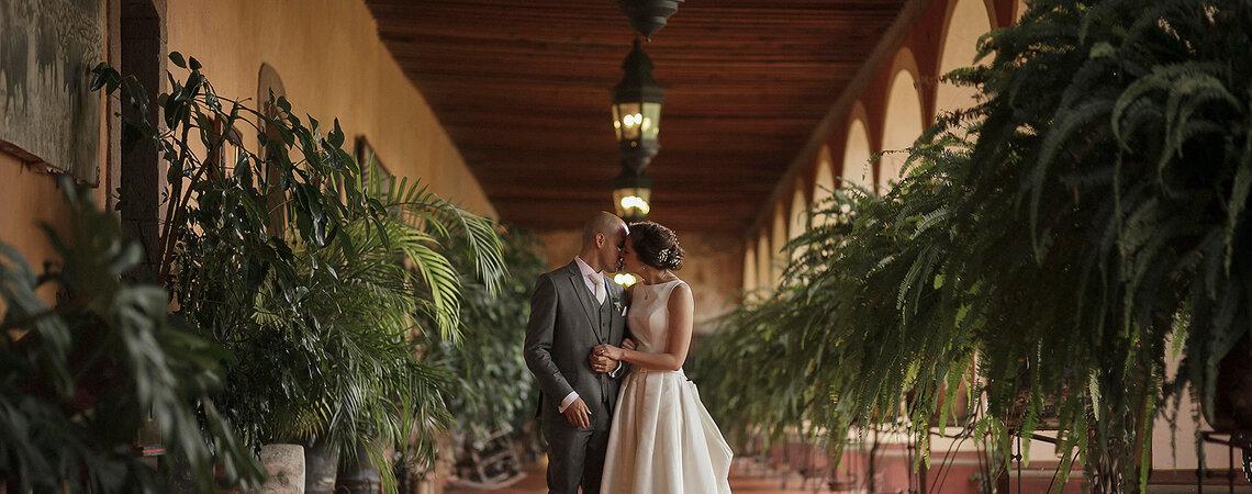 Mi hogar está en tu corazón: La boda de Mara y Carlos en Hacienda ...