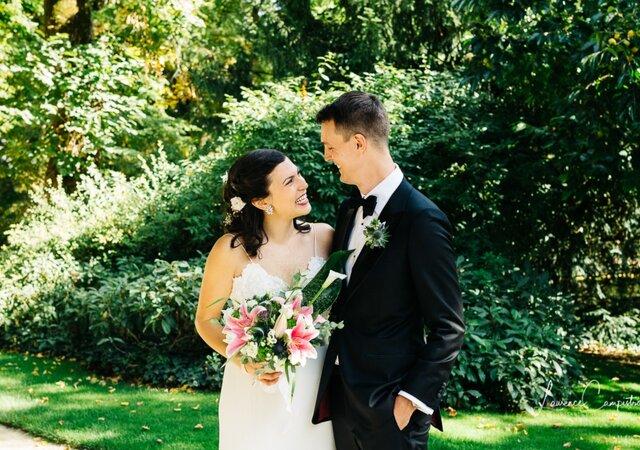 Lainie et Clément : un mariage romantique aux allures de rêve américain