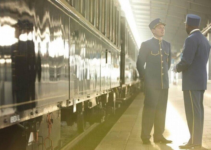 Oryginalny miesiąc miodowy - podróż pociągiem Orient Express!