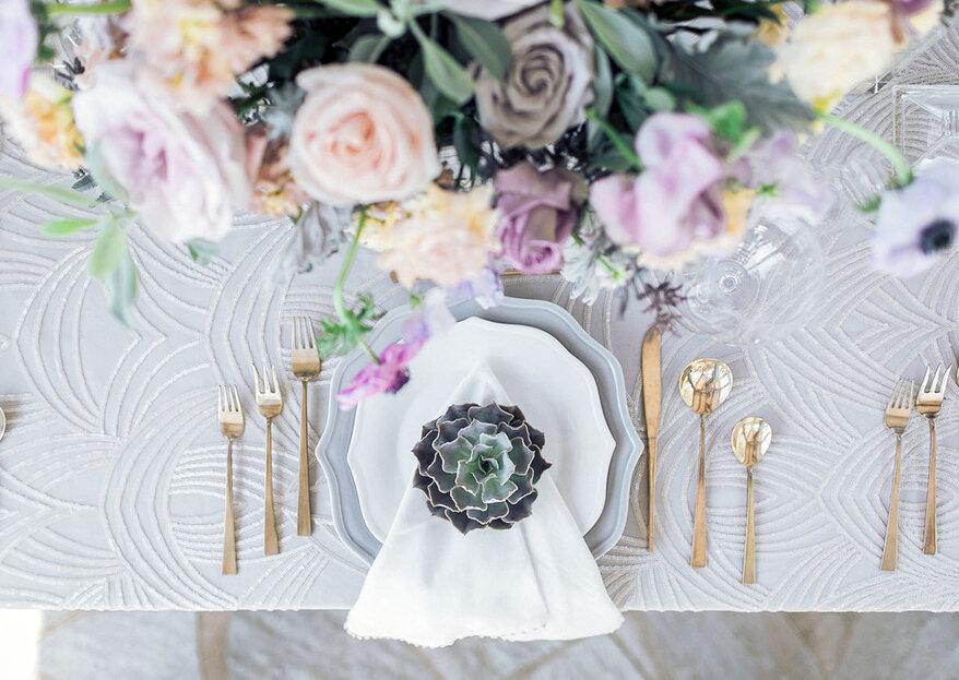 Cómo elegir los manteles para la boda ¡Checa estos 5 tips!
