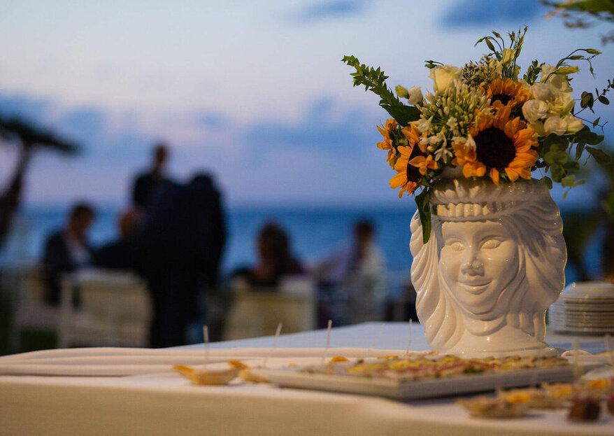 Agorà al Costa Ponente: il mare, la cornice perfetta per le tue nozze in Sicilia...