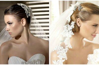 Veli,accessori e acconciature sposa 2013