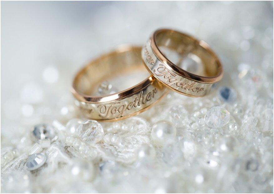 Inscriptie van de trouwringen: er is meer dan naam en datum!
