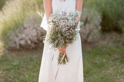 Свадебные букеты из полевых цветов: безграничная свобода и нежность!