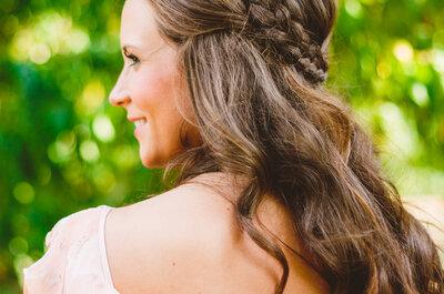 30 tolle Brautfrisuren für moderne Bräute: lässig und schick zugleich!