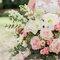 Roze Bruidsboeketten