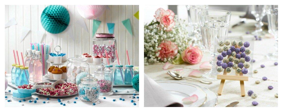 Überraschen Sie Ihre Hochzeitsgäste: Mit personalisierten M&Ms® als Gastgeschenk