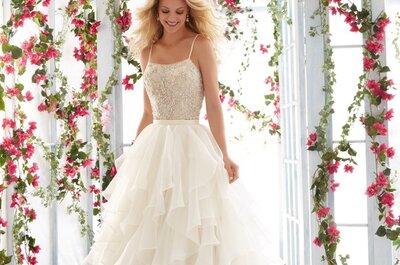 Cómo elegir el escote de tu vestido de novia según tu tipo de cuerpo