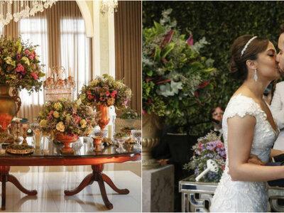 Casamento Clássico de Rhaissa & Thiago: luxo, sofisticação e muita elegância em cada detalhe!