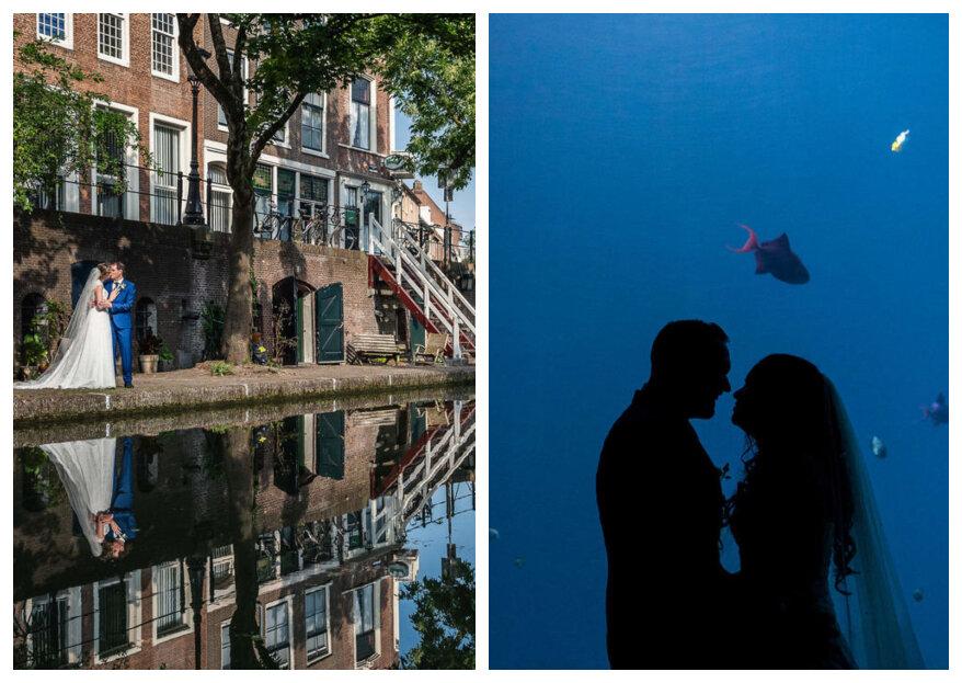 Fotoshoot op je trouwdag? Kies het perfecte moment!
