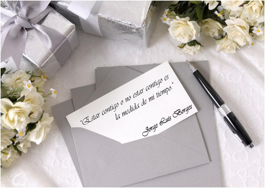 60 frases para tarjetas de invitación a boda: ¡inspiración a flor de piel!