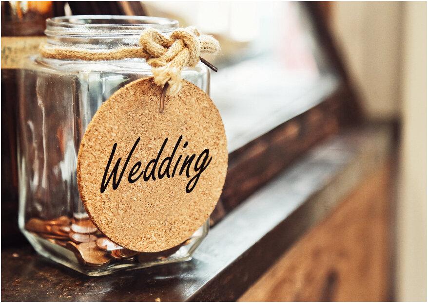 ¿Wedding planner financiero? Consejos para que boda y dinero no se peleen