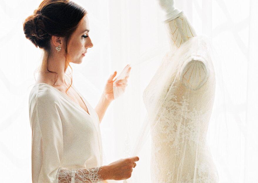 Como escolher o vestido de noiva em 5 passos