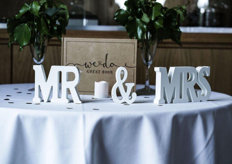 5 idee per il vostro guestsbook: perché i ricordi del vostro matrimonio durino per sempre