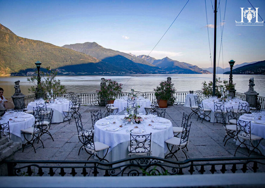 Get Married With A View Of Italy's Finest: Villa Rubini Redaelli