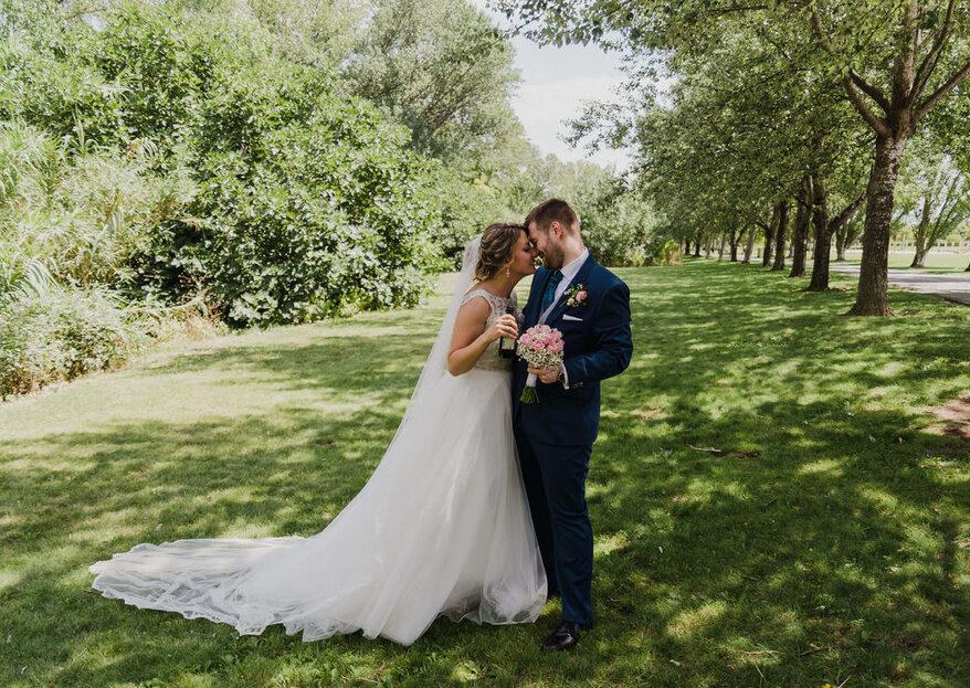 Triz y Juan: las fotografías de tu boda más naturales, auténticas y positivas