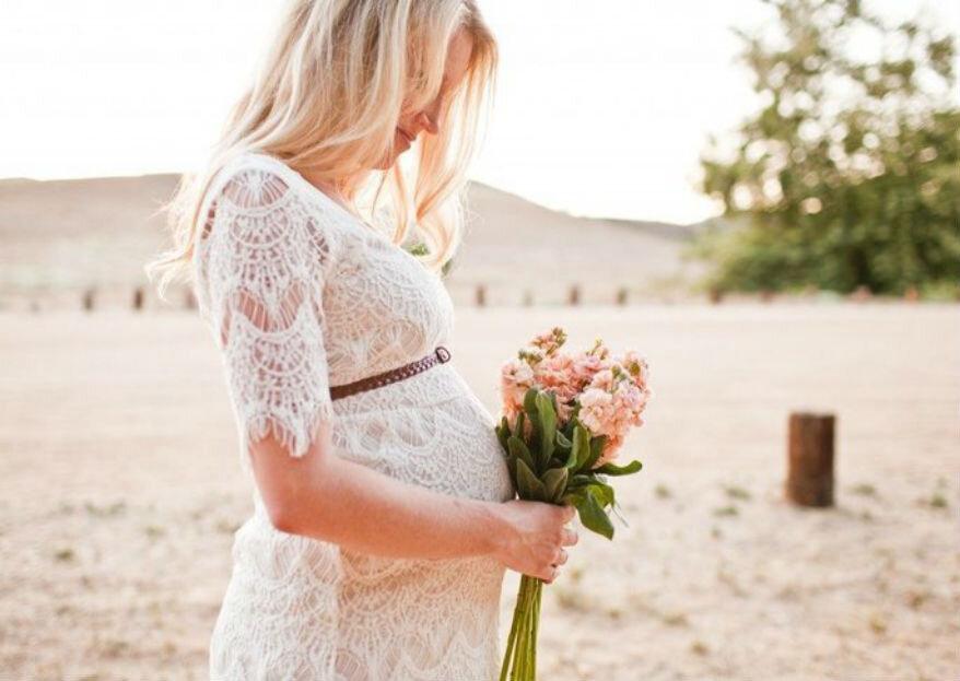 Советы по выбору свадебного платья для беременной невесты