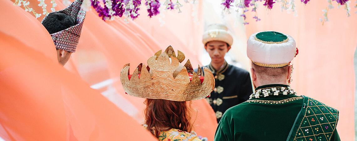 Пост-релиз Фестиваля Индонезии: церемонии бракосочетания в индонезийском стиле на благо общества