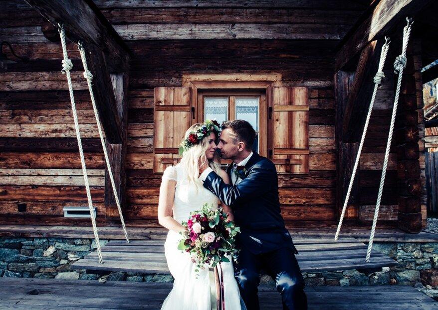 Die wunderschönen Hochzeitsfotos von Verena und Günther in toller Bergkulisse