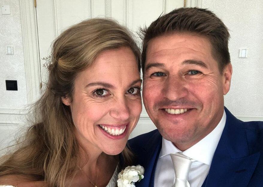 Martijn Krabbé getrouwd met Deborah Wietzes!