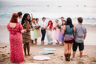 Hochzeitszeremonien einmal anders: So sagen Sie ungewöhnlich JA!