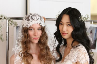 Vintage hair for modern brides in 2015