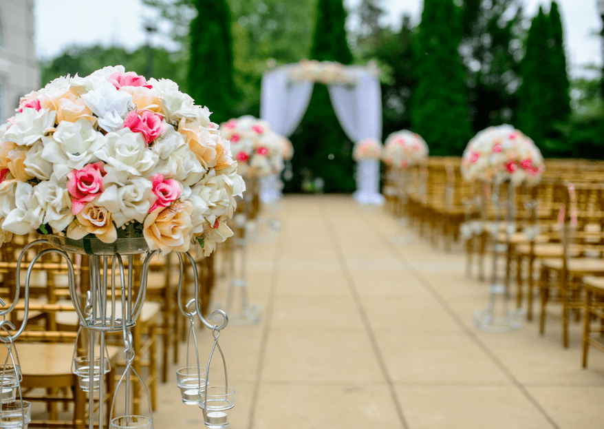 5 ideas ESPECTACULARES para decorar tu boda con flores