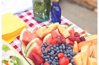 Un sabor delicioso y vibrantes colores: Ideas para decorar tu boda con lindas frutas