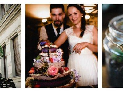 Maria & Marcus blicken auf eine wundervolle Hochzeitsfeier mit individuellem Touch in Berlin zurück