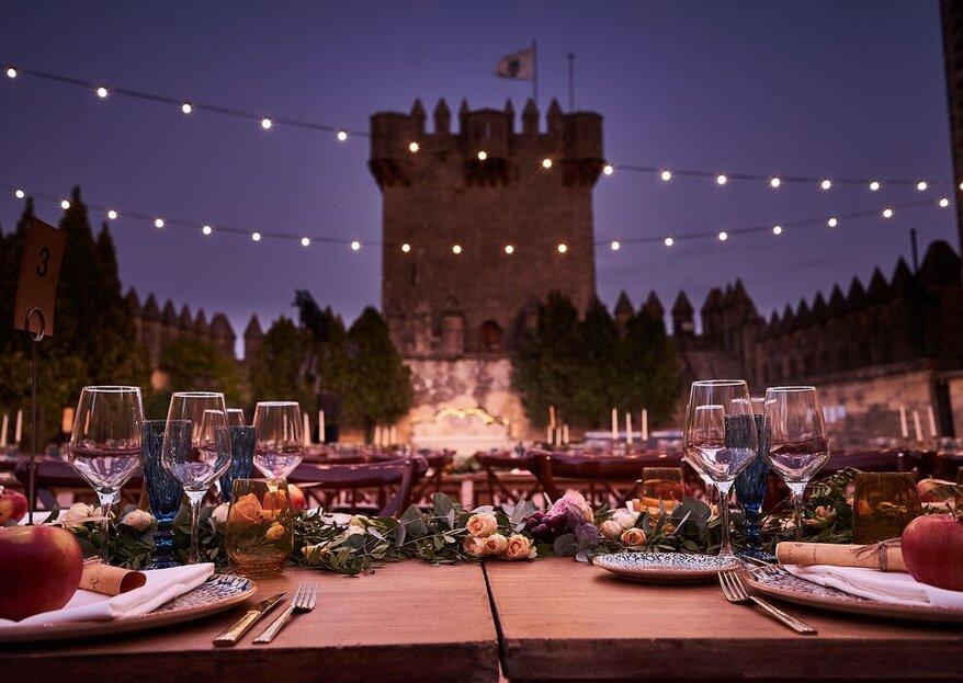 El Castillo de Almodóvar: la magia de una boda nocturna como nunca la habías imaginado
