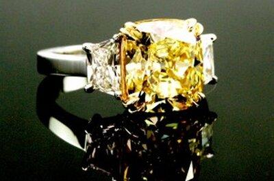 Il diamante perfetto per l'anello di fidanzamento 2013? E' giallo canarino!