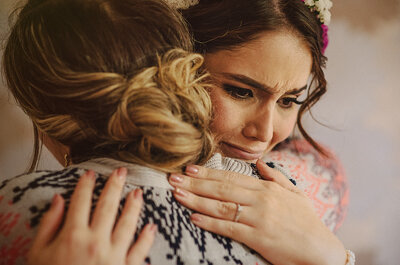 Las 5 razones más comunes de estrés en la novia antes del matrimonio