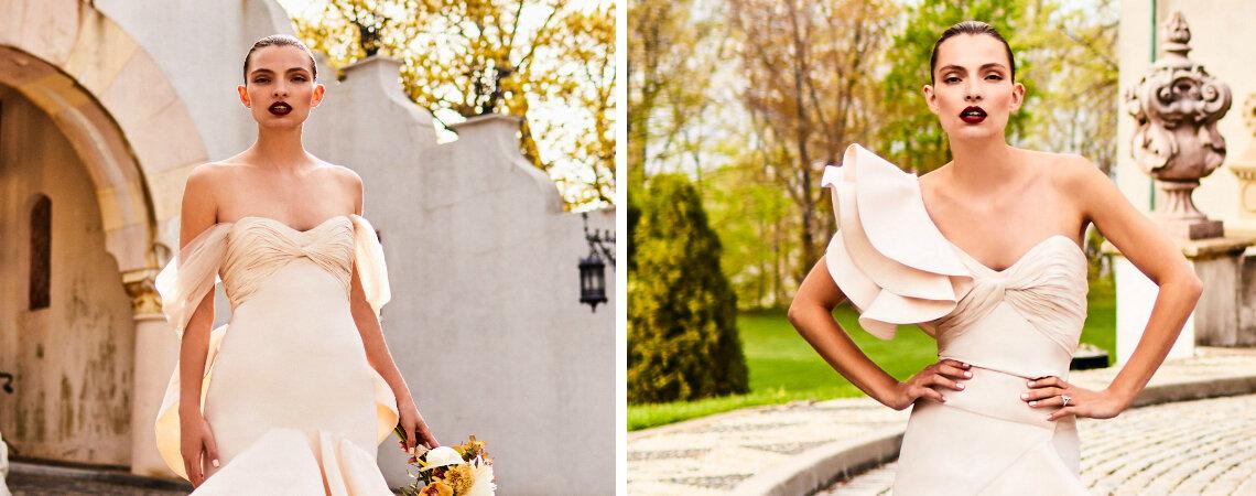 Indescribably Elegant: Johanna Ortiz's Romantic Bridal Collection
