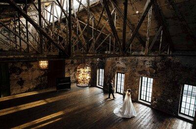 Свадьба в индустриальном стиле: узнайте, как организовать пошагово!