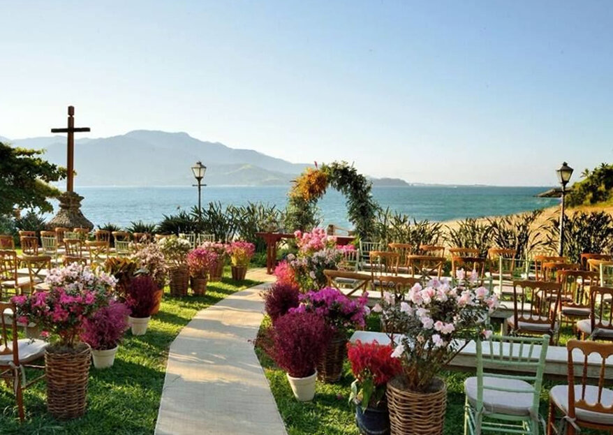 Locais para casamento em Ilhabela: confira os 8 mais requisitados!